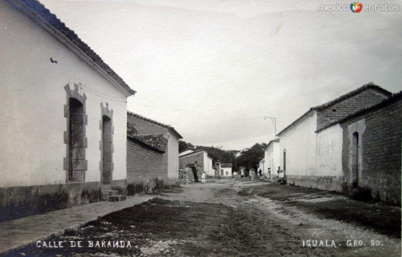 Calle de Baranda.