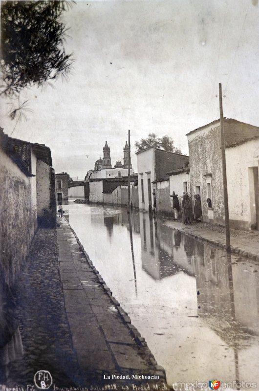 Inundacion acaecida en Julio de 1912.