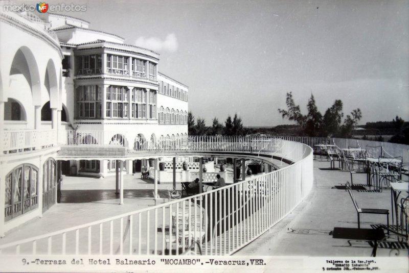 Terraza del Hotel Mocambo.