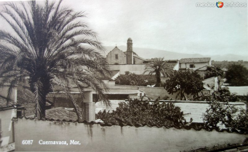 Panorama por el Fotógrafo Hugo Brehme.