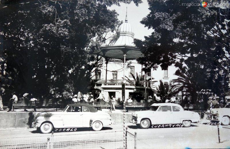 Zocalo ( Circulada el 22 de Agosto de 1958 ).