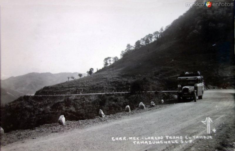 Carretera Mex-Laredo tramo El Tambor.