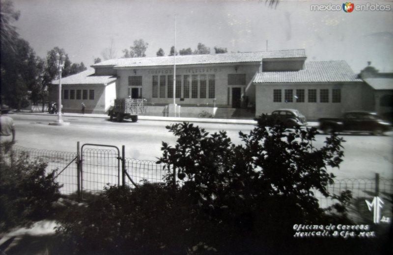 Oficina de Correos  ( Circulada el 11 de Enero de 1952 ).