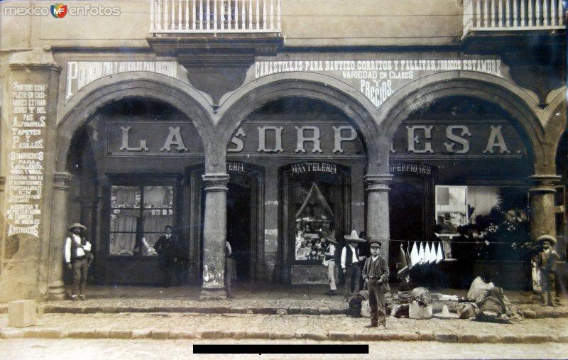 La Sorpresa ( Circulada el 3 de Octubre de 1909 ).