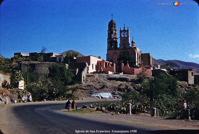 Iglesia de San Francisco  Guanajuato 1958