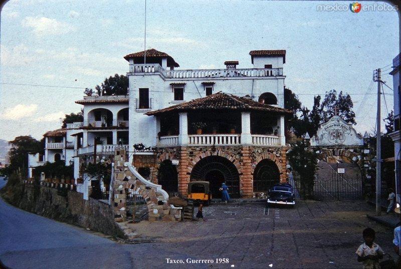 Hotel Posada de La Mision  de Taxco Guerrero 1958.