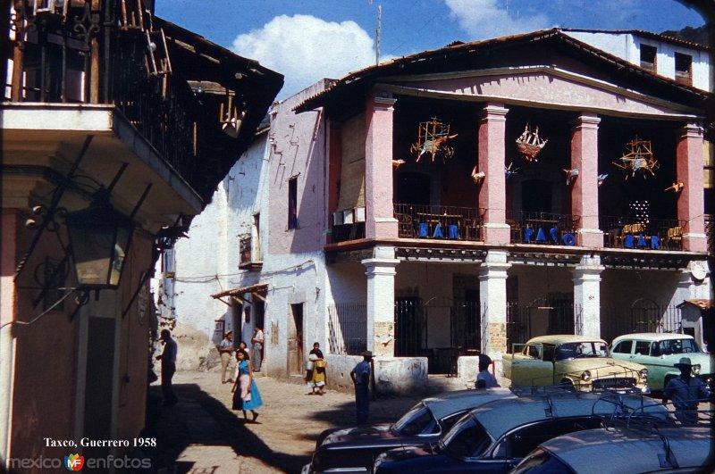 Bar Paco de Taxco Guerrero 1958.