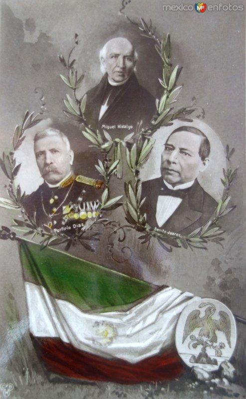 Postal Conmemorativa con motivo del Primer Centenario de nuestra Independencia ( Septiembre de 1910)