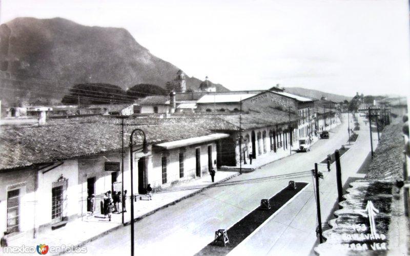 Una Boulevard Fechada en  1936.