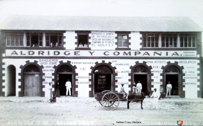 Aldrige y Compania ( Circulada el 22 de Marzo de 1910 ).