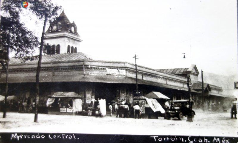 Mercado Centraal   ( Circulada el 22 de Marzo de 1922 )..