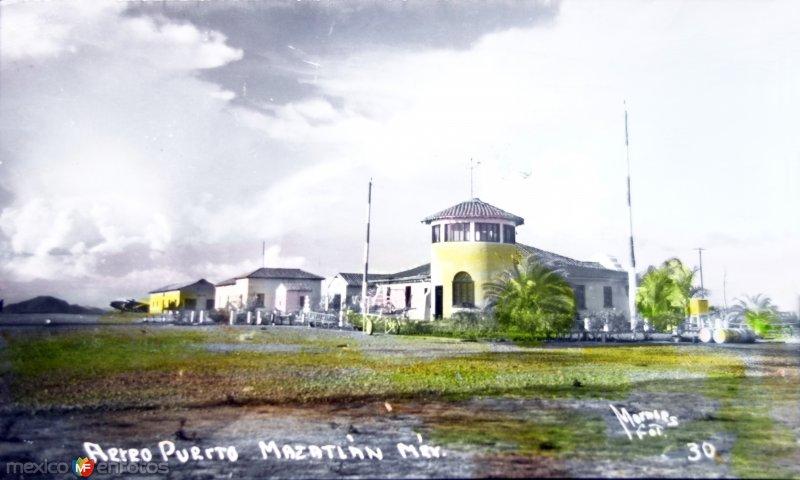 Aeropuerto  ( Circulada el 19 de Septiembre  de 1949 ).