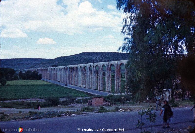 El Acueducto de Querétaro 1946