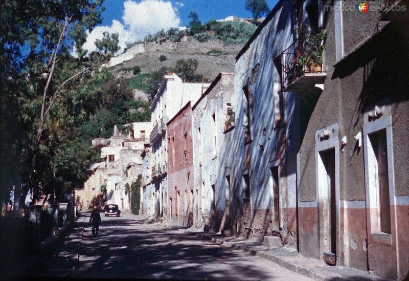 Escena callejera de Guanajuato 1946.