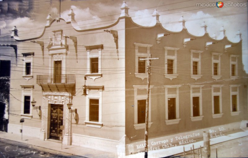 Edificio de correos y telegrafos.