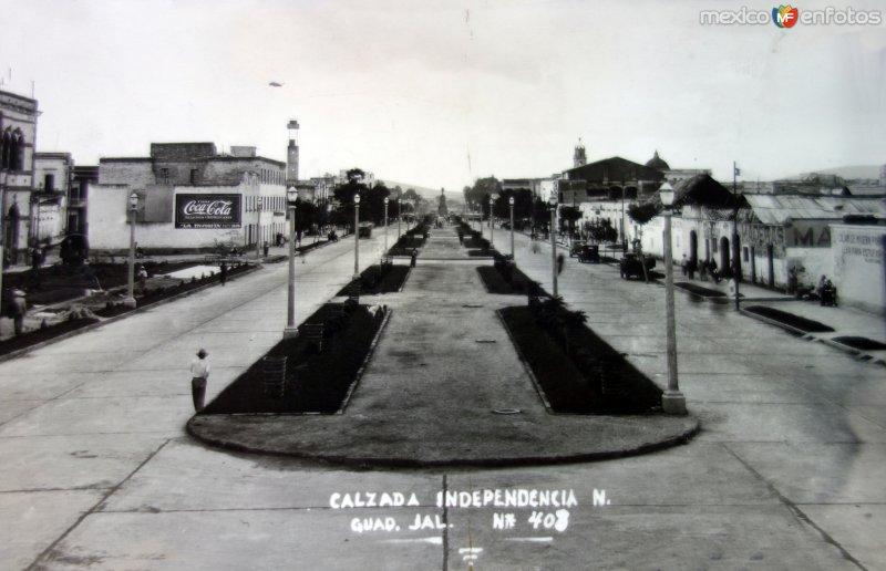 Calzada Independencia Norte Guadalajara, Jalisco.