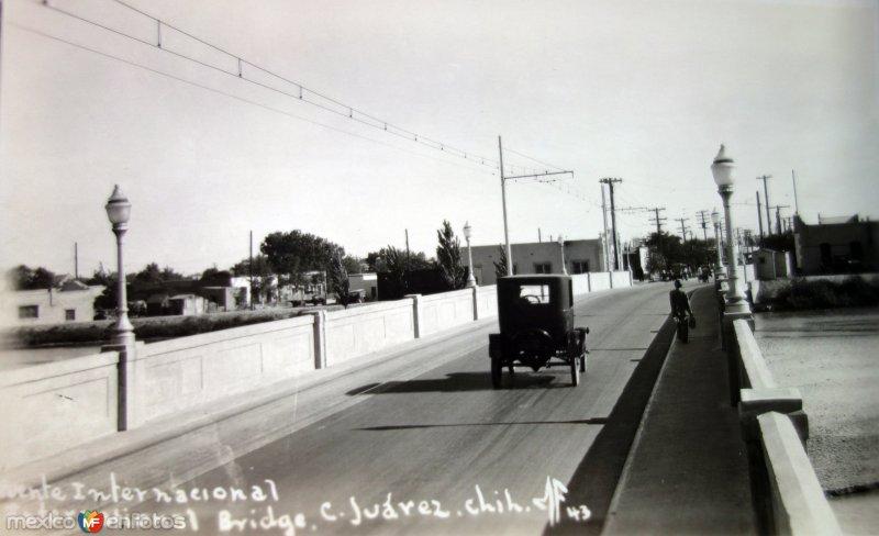 Puente Internacional Cd Juarez.