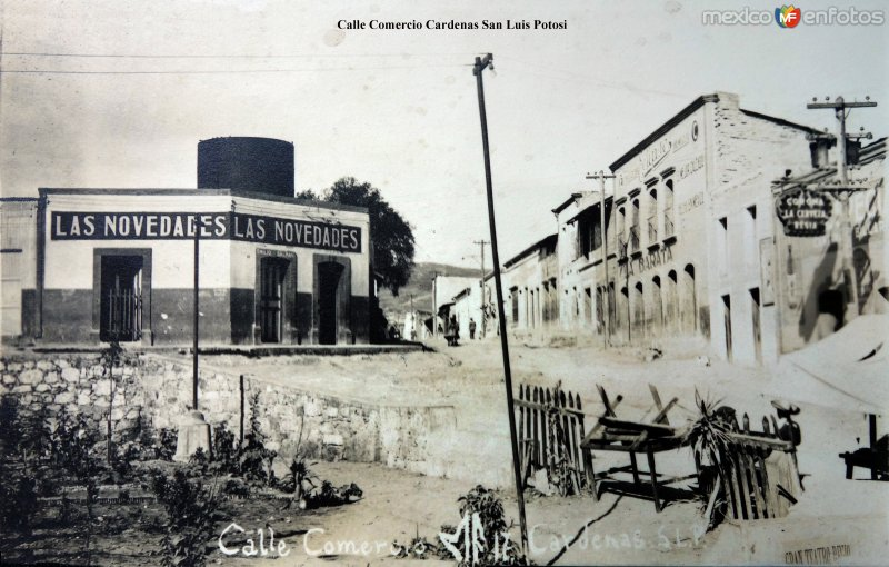 Calle Comercio.