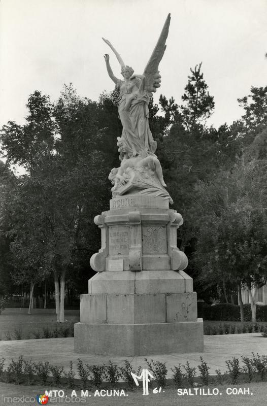 Monumento a Manuel Acuña