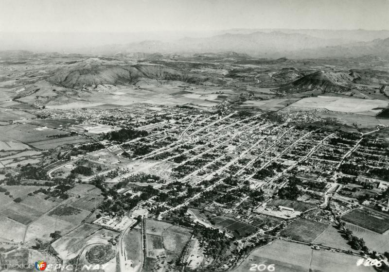 Vista aérea de Tepic
