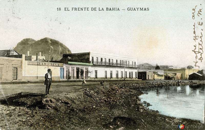 El frente de la bahía
