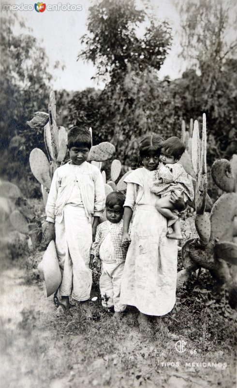 Tipos Mexicanos Ninitos.