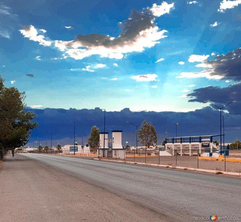 Ciclopista, Ciudad Delicias.