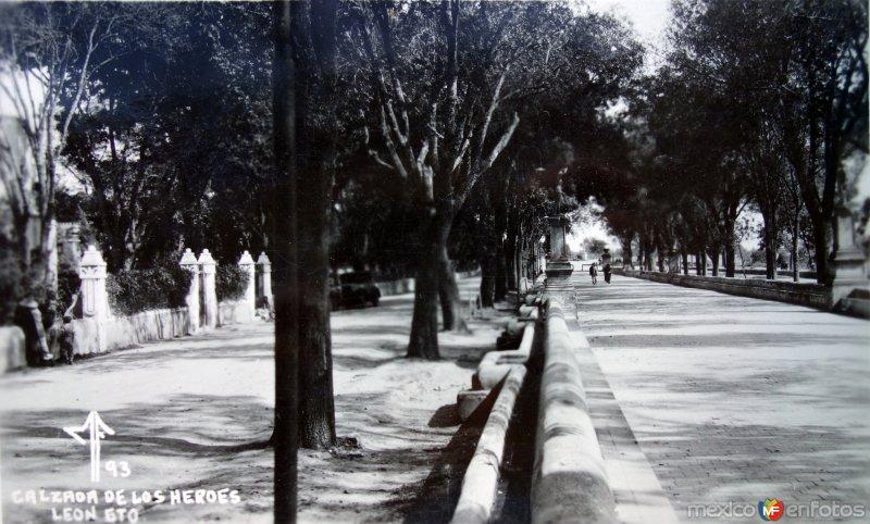 Calzada de Los Heroes.