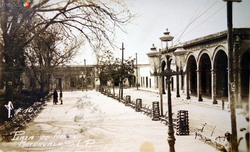 La Plaza de Armas.