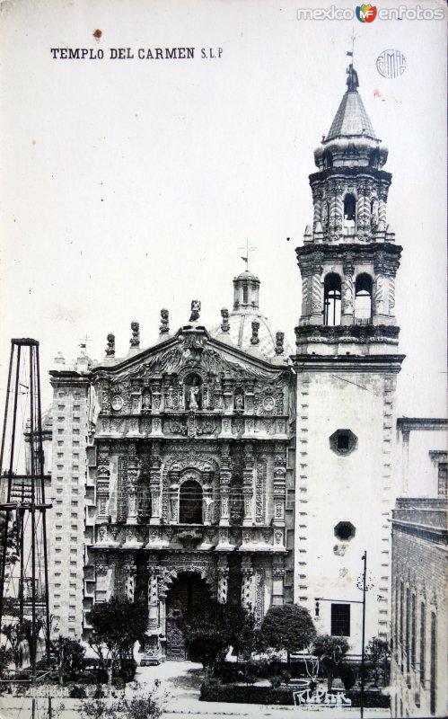 Templo de el Carmen.