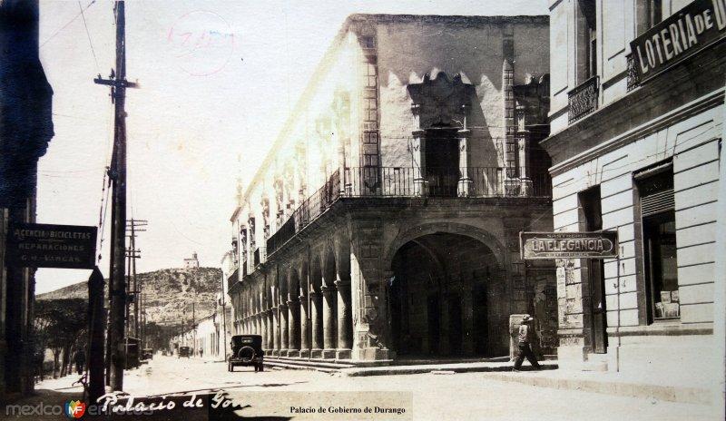 Palacio de Gobierno de Durango.