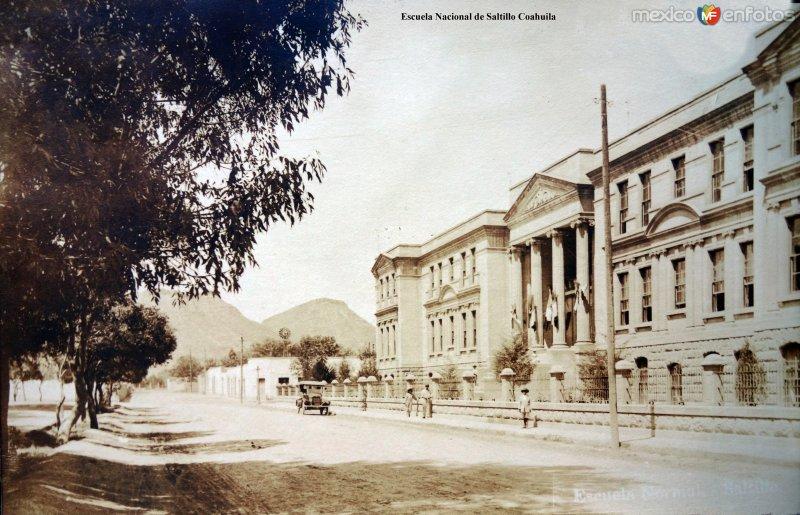 Escuela Nacional de Saltillo Coahuila.