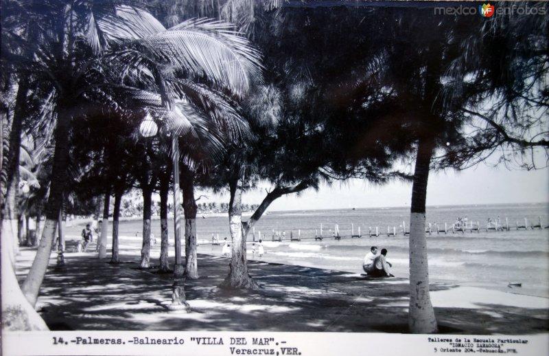 Villa del mar.