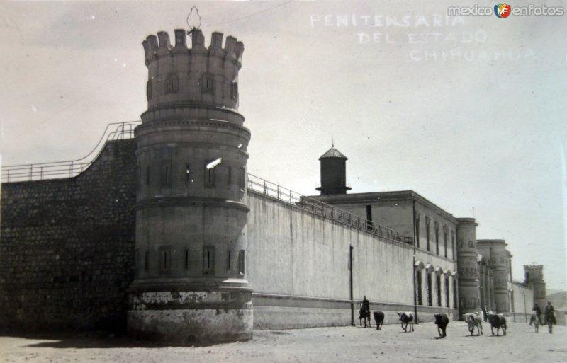 Penitenciaria del Estado.