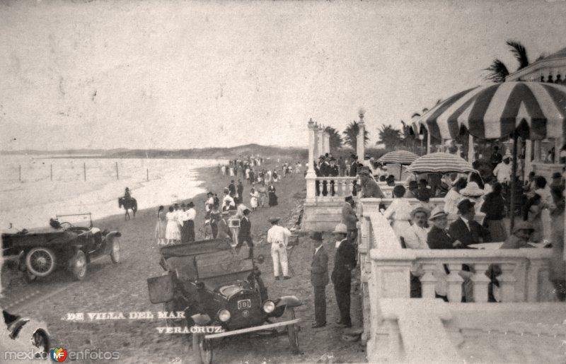 Villa del mar. ( Circulada el 2 de Mayo de 1921 ).