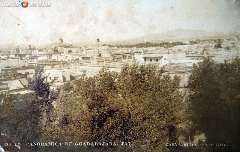 Panoramica  ( Circulada el 11 de Diciembre 1922 ).