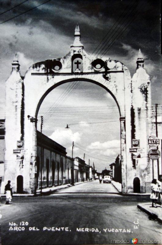 Arco del puente.