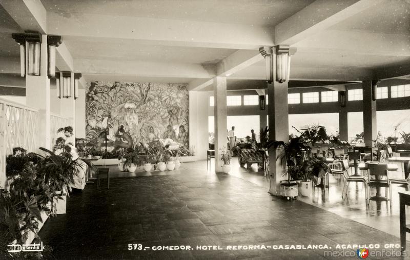 Comedor del Hotel Reforma Casablanca