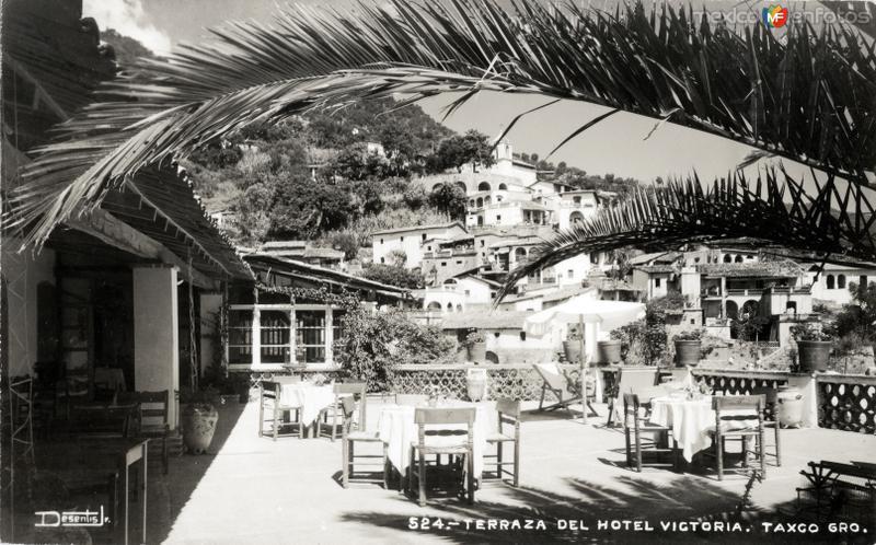 Terraza del Hotel Victoria
