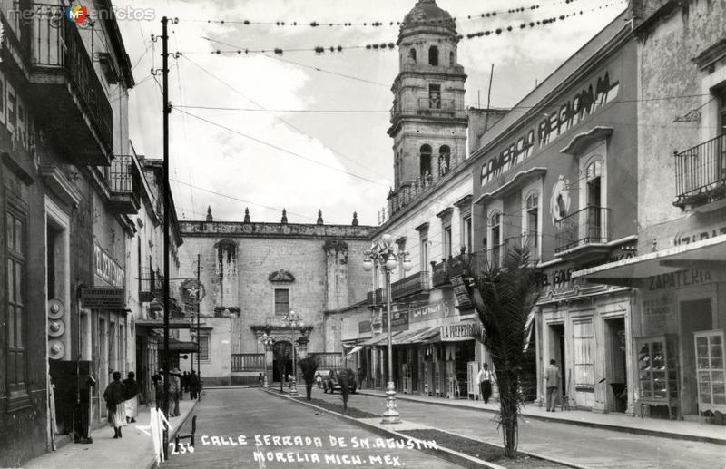 Calle cerrada de San Agustín
