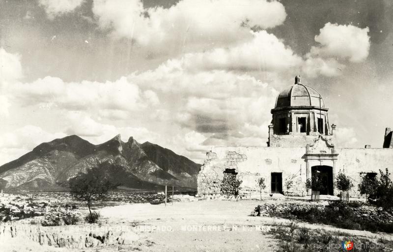El Obispado, antes de su restauración