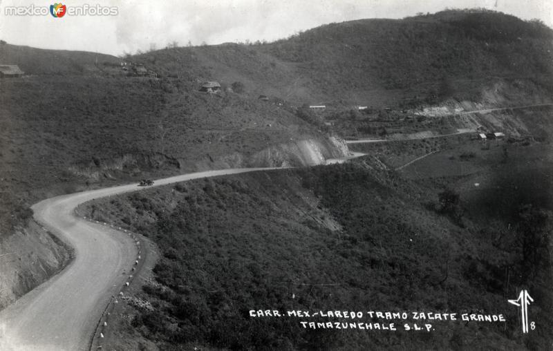 Carretra México - Laredo, tramo Zacate Grande