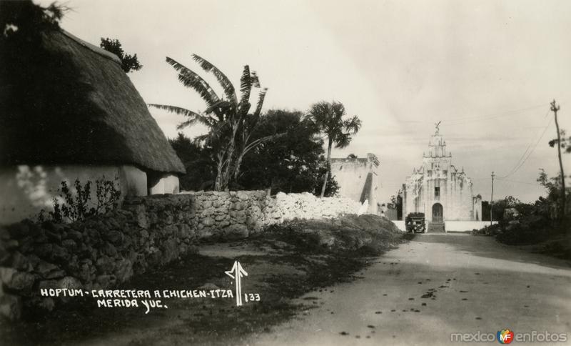 Carretera a Chichén Itzá