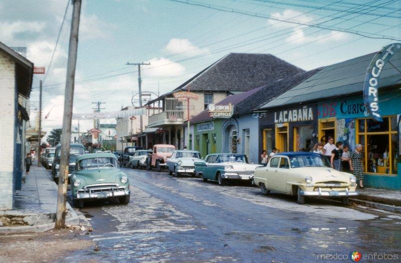 Calle en Ciudad Acuña (1956)