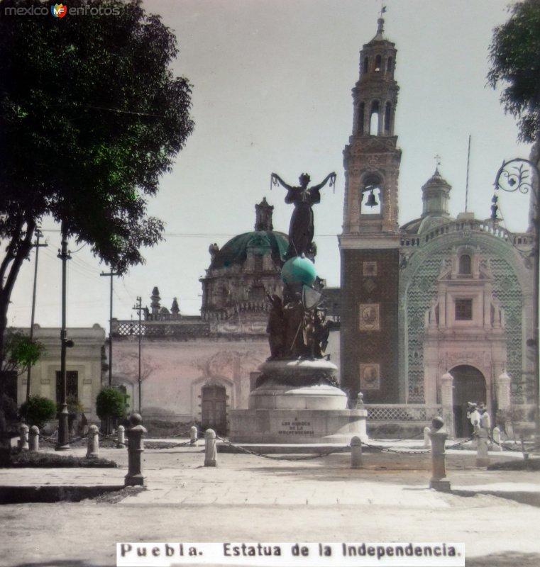 Estatua de la Independencia.