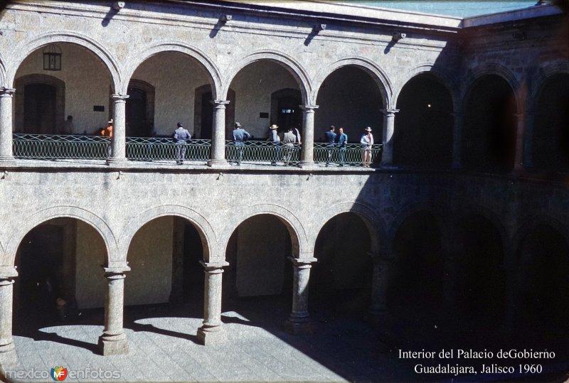 Interior del Palacio deGobierno  Guadalajara, Jalisco 1960