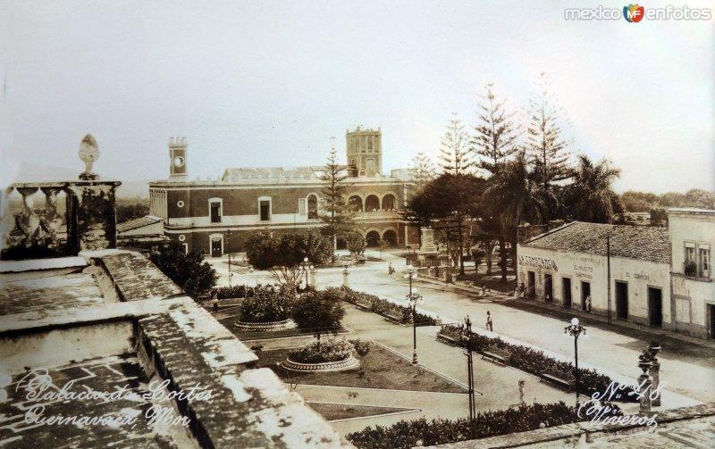 Palacio de Cortes.