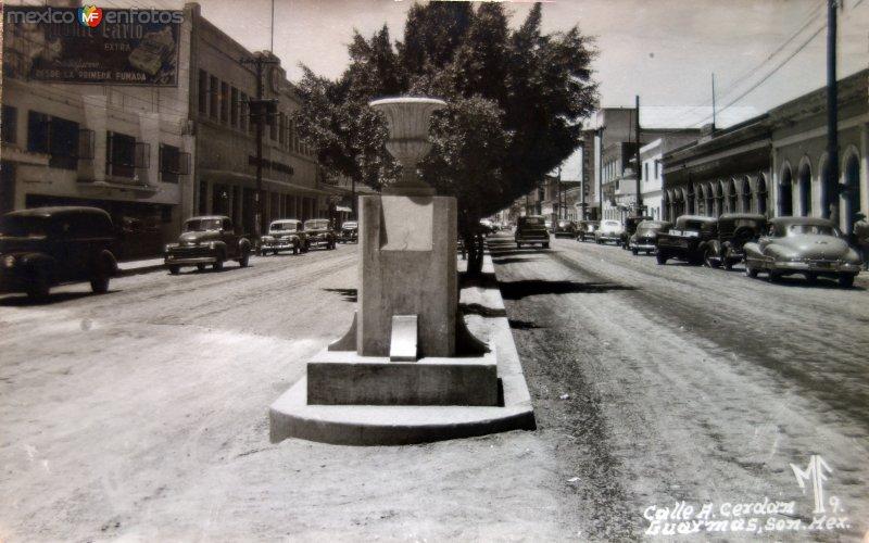 Calle A. Cerdán ( Circulada el 24 de Marzo de 1952 ).