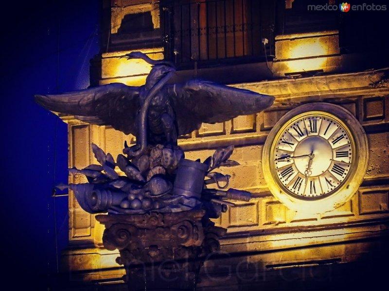 Columna de la Independencia de noche