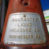Antigua bomba de gasolina